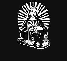 Keep On Truckin' Jesus! Unisex T-Shirt