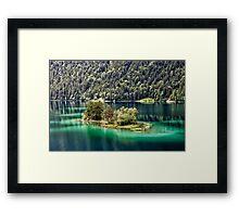 Eibsee Framed Print