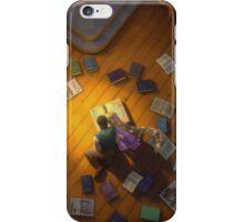 Exploring through books iPhone Case/Skin