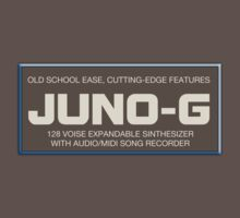 Juno G Synthesizer decoration  Clothing & Stickers by goodmusic