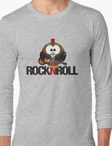 Rock n Roll Owl Long Sleeve T-Shirt