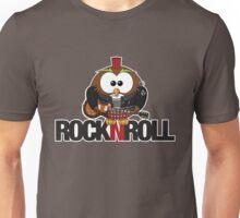Rock n Roll Owl Unisex T-Shirt
