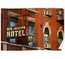 New Jackson Hotel Poster