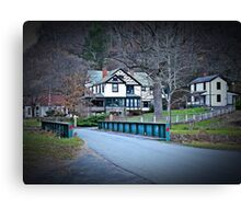 Country Mansion Canvas Print