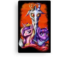 MLP: The Blue-Flu Crew Canvas Print