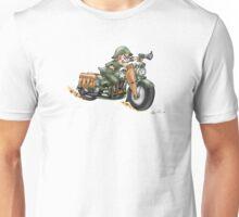 HARLEY STYLE MOTORCYCLE WLA Unisex T-Shirt