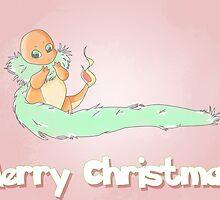 Charmander Christmas by Samantha Royle