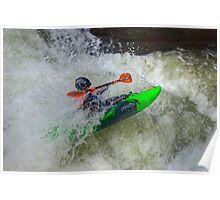 The Green Kayak Poster