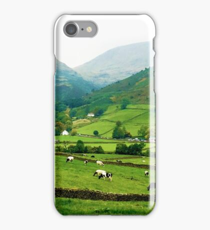 Farms at Grasmere, Cumbria, UK iPhone Case/Skin