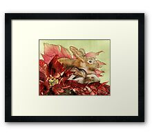 Christmas Bunnies Framed Print