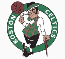 Boston Celtics basketball logos T-Shirts ,Stickers by boomer321sasha