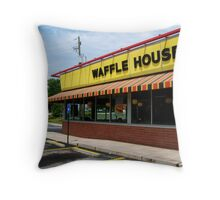 Waffle House, Atlanta, Georgia Throw Pillow