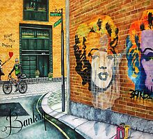 The Spirit of Banksy - Follow Your Dreams by k. Madison  Moore