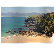 Beach at Fanad Head Poster