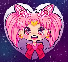 Chibi Moon by cutegalaxy