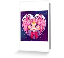Chibi Moon Greeting Card