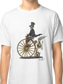 STEAMPUNK PENNY FARTHING BICYCLE Classic T-Shirt