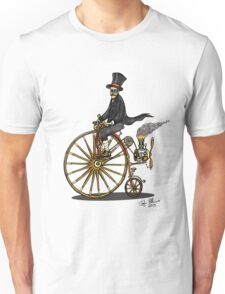 STEAMPUNK PENNY FARTHING BICYCLE Unisex T-Shirt