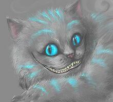 Cheshire Cat by TiffaniDaniels