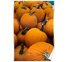 Pumpkin Cart Poster