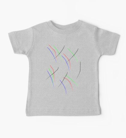 Abstract Lines Baby Tee