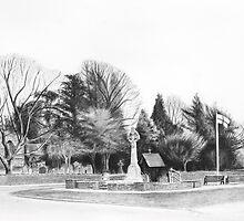 Aldridge Parish Church by Lynn Hughes