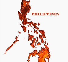 Philippine map logo WHT by nhk999