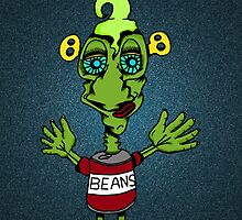 Beany Monster by Bigups