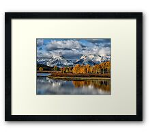 Autumn in the Grand Tetons Framed Print