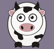 Little Cute Cow Kids Clothes