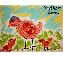 Mother Love Photographic Print