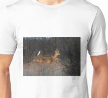 Flight of Fancy - White-tailed Deer Unisex T-Shirt