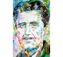 GEORGE ORWELL- watercolor portrait Photographic Print