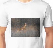 Buck on the Run - White-tailed Deer Unisex T-Shirt