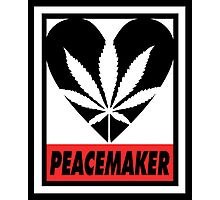 Budding Hearts - Peacemaker, Inverted Red Photographic Print