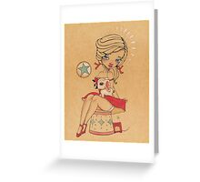 Come, Run away with me Greeting Card