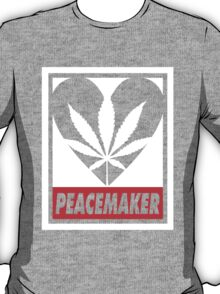 Budding Hearts - Peacemaker, Logo Big Inverted Red T-Shirt