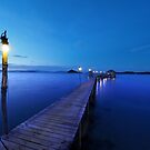 Pier at dusk by openyourap