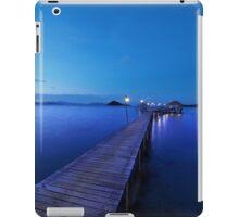 Pier at dusk iPad Case/Skin