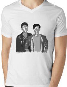 Dan & Phil | 50 shades of grey Mens V-Neck T-Shirt