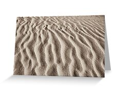 wilsons promontory sands 2 Greeting Card