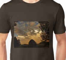 Beautiful Sky With Rainbow In The Distance Unisex T-Shirt