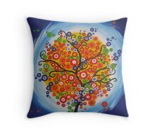 Brazilian Tree2 Throw Pillow