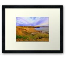 Donegal Gaeltacht Beach Framed Print