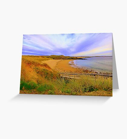 Donegal Gaeltacht Beach Greeting Card