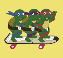 5 Year Old Mutant Ninja Turtles by ChrisButler