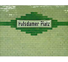 Potsdamer Platz Photographic Print