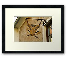Sign of the ox Framed Print