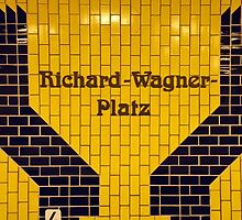 Richard-Wagner Platz by Graham Sciberras