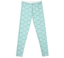 Mermaid Deco Scales Leggings